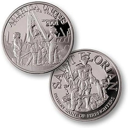 America Unites 9-11 Challenge Coin