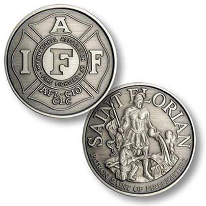 IAFF St. Florian Challenge Coin