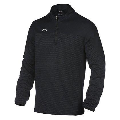 Oakley Gridlock 1/4 Zip Pullover, Blackout