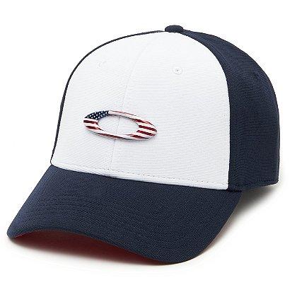 Oakley Tincan Cap, Navy/White
