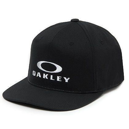 Oakley Sliver 110 Flexfit Hat, Jet Black