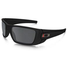 1f85fdb5f2bc1 SI Fuel Cell Thin Red Line Satin Black Frames w  Black Iridium Lenses