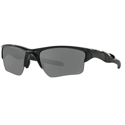 Polished Navy Half Jacket 2.0 XL Frames with Black Iridium Lens