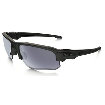 Oakley SI Speed Jacket Eyewear, Matte Black Frames w/ Warm Grey Lens