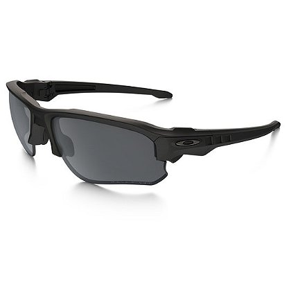 Oakley SI Speed Jacket Sunglasses, Matte Black Frames w/ Polarized Lenses