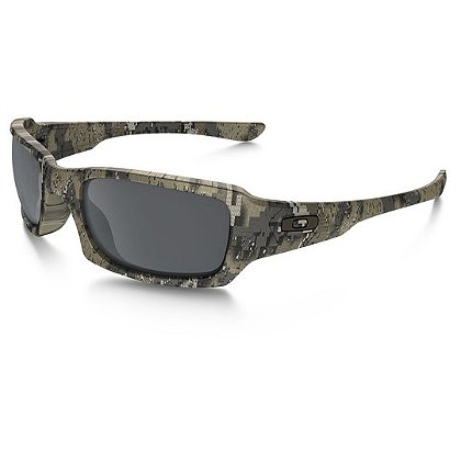 Oakley Fives Squared Desolve Bare w/Black Iridium Lenses