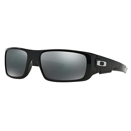 Oakley Crankshaft, Polished Black Frame w/ Black Iridium Lenses