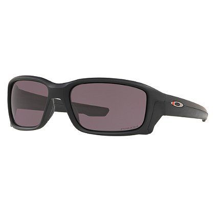 Oakley SI Straightlink Thin Red Line Sunglasses, Matte Black Frames w/ Prizm™ Grey Lens