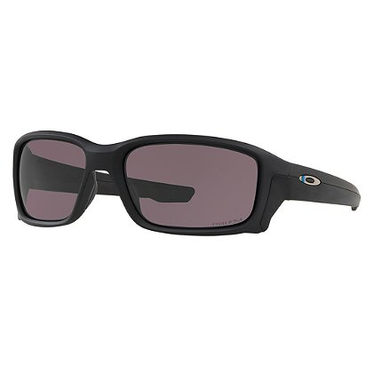 Oakley SI Straightlink Thin Blue Line Sunglasses, Blue/Black Frames w/ Prizm™ Grey Lens