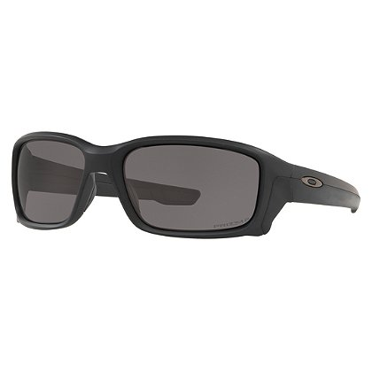Oakley SI Straightlink Sunglasses, Matte Black Frames w/ Prizm Grey Polarized Lens