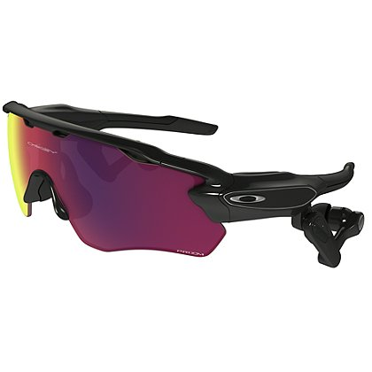 Oakley Radar Pace, Polished Black Frame w/ Prizm Road & Clear Lens