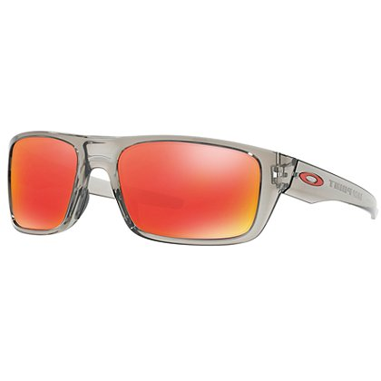 Oakley Drop Point Grey Ink Frames w/ Ruby Iridium Lens
