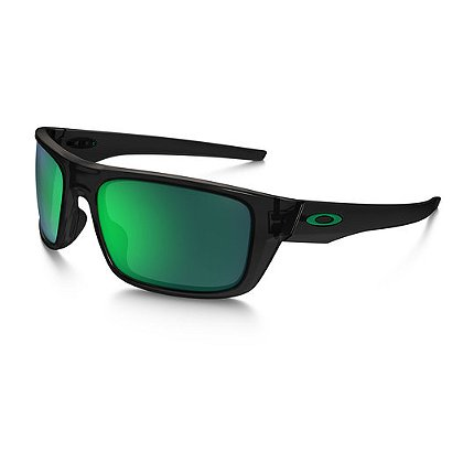 Oakley Drop Point Black Ink Frames w/ Jade Iridium Lenses