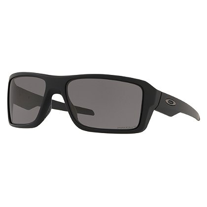Oakley SI Double Edge Sunglasses, Matte Black Frames w/ Prizm™ Grey Polarized Lenses
