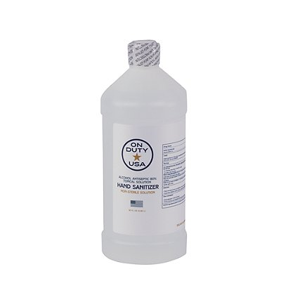 On-Duty Hand Sanitizer Topical Solution