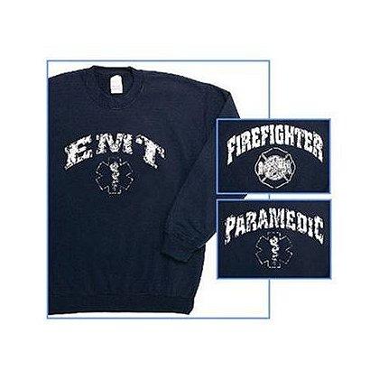 Vintage Firefighter Maltese Cross Sweatshirt