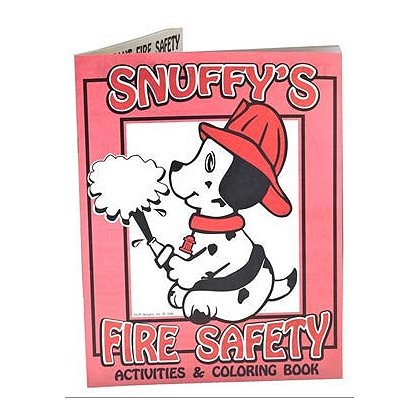 Snuffy's Fire Safety Coloring Book - Pack of 50