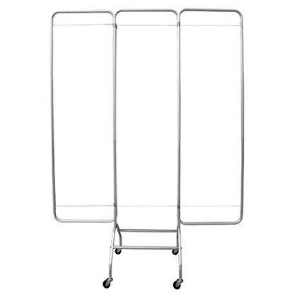 "Omnimed Privacy Screen, (3) 19"" Wide Sections, Frame Only"