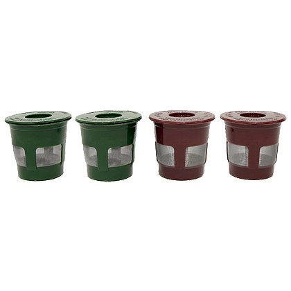 OXX Four-Pack of Eco-Fill Reusable Coffee Pods