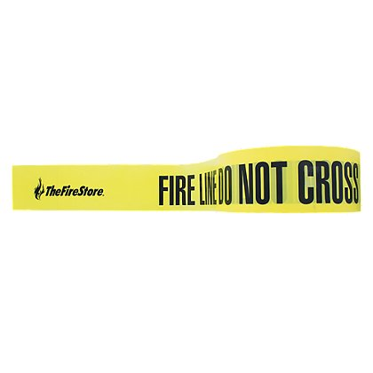 TheFireStore Barricade Tape, 3 in. x 1000 ft., 3 Mil. Thick