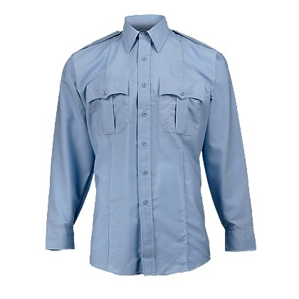 Elbeco Men's Paragon Plus Uniform Shirt, Long Sleeve