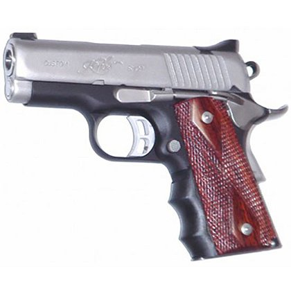 Pearce Grips Springfield Armory 1911 Compact Model Rubber Finger Groove Insert