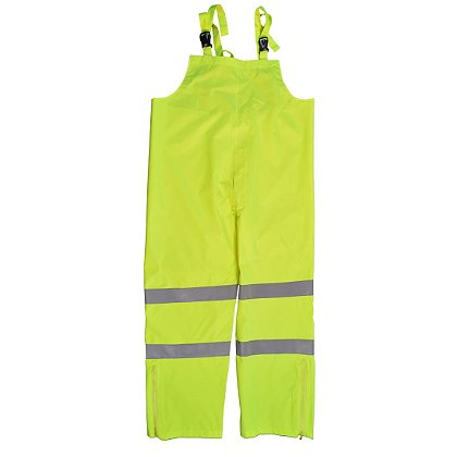 Petra Roc Hi-Viz Lime Water and Wind Proof Bib Pants