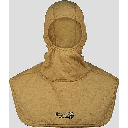 PGI BarriAire Gold Particulate Hood Complete Coverage, Extended Bib with Nomex Nano Flex Face Opening