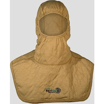 PGI BarriAire Gold Particulate Hood Comprehensive Coverage, Extended Bib with Nomex Nano Flex Face Opening