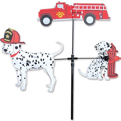 Premier Kites Fire Truck and Dalmatians Carousel Spinner