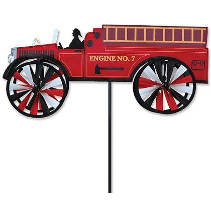 """Premier Kites 21"""" Fire Truck Wind Spinner"""