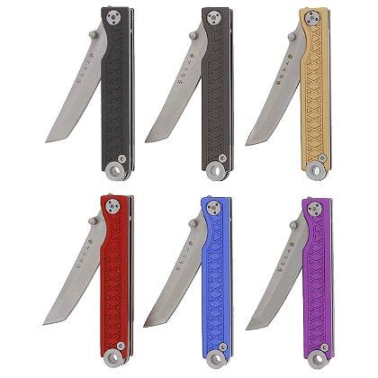 Statgear Aluminum Pocket Samurai Keychain Knife