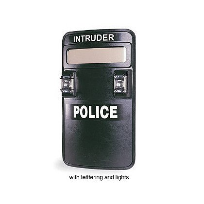 Safariland Intruder HS Level IIIA Tactical Shield with LED Lighting Options, NIJ0106.01