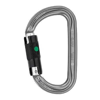 Petzl AM'D BALL-LOCK D-Shaped Carabiner