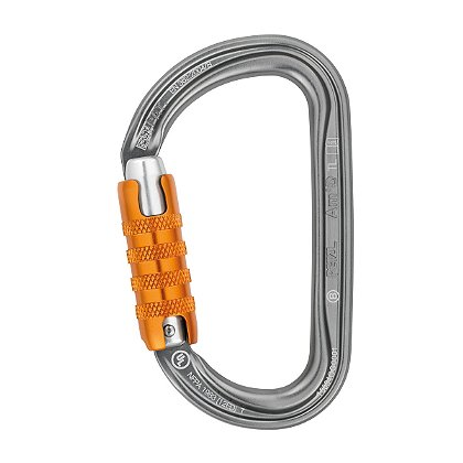 Petzl AM'D TRIACT-LOCK D-Shaped Carabiner
