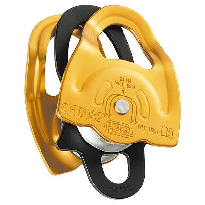 Petzl GEMINI Lightweight Double Prusik Pulley, NFPA
