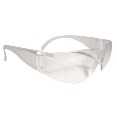 Black Mil-Tec Para Clear Safety Glasses One Size