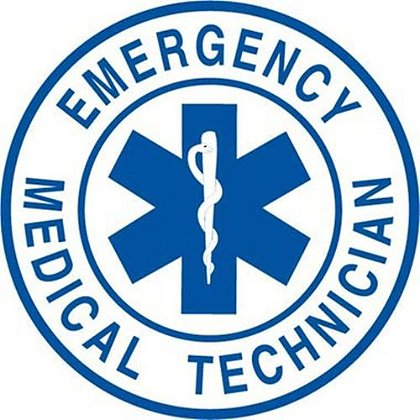 EMT 2 Inch Round Decal