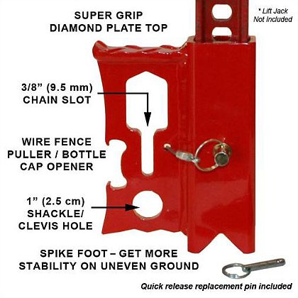 Rescue 42 JackMate™ Lift Jack Accessory Tool