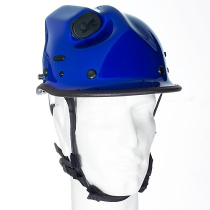 Pacific R5 Rope Rescue/Extrication Helmet w/Torch Pod, Blue