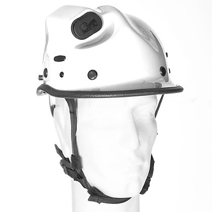 Pacific R5 Rope Rescue/Extrication Helmet w/Torch Pod, White