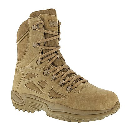 "Reebok AR670-1 Compliant Soft Toe Rapid Response Stealth 8"" Boot, Coyote"