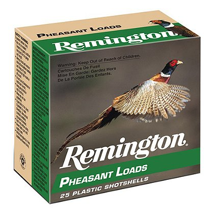 Remington 12 Gauge Pheasant Loads, Case of 250