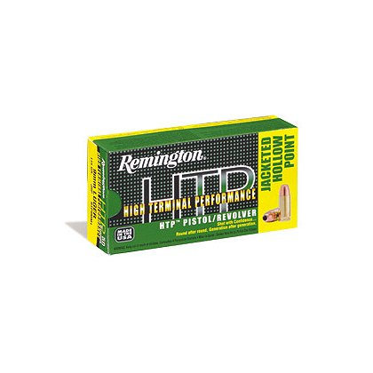 Remington .45 ACP/Auto HTP 185 gr HP, Case of 500