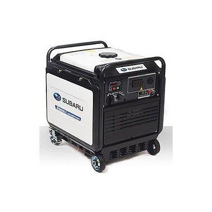 Subaru RG3200 Silent Inverter Generator, Electric Start w/ Recoil Backup, 120V, 12V DC Charger, 6.5 Hr. Run Time