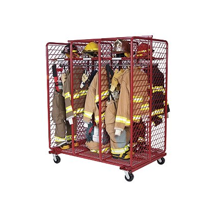 Groves Mobile Red Rack, Double Sided