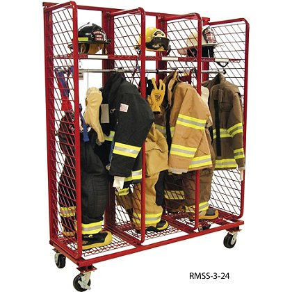 Groves Mobile Red Rack, Single Sided