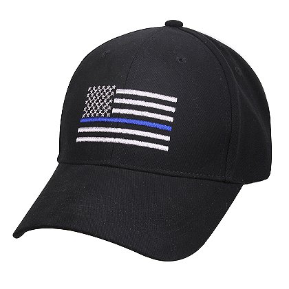 Rothco Thin Blue Line Flag Hat