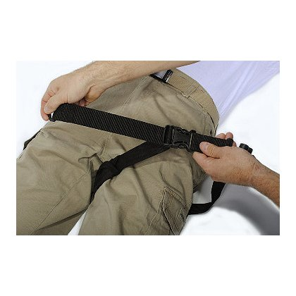 Emergency Products & Research I.T.D Replacement Groin Strap Comfort Pad, Black