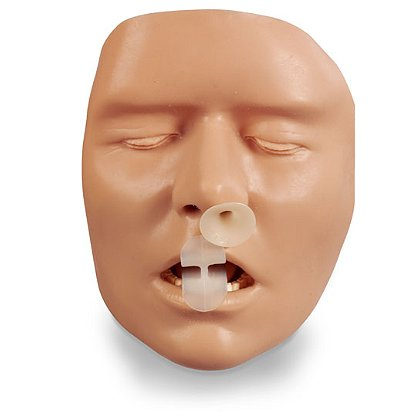 Simulaids BLS Adult Airway Handheld Trainer
